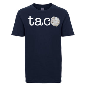 Unisex / Boy's Basic TACO T-shirt - White Letters