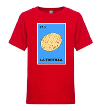Load image into Gallery viewer, Kids Unisex/Boy's Sr. Loteria-Tee T-Shirt