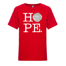Load image into Gallery viewer, Unisex / Boy's Basic HOPE T-shirt - White Letters
