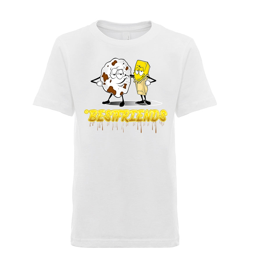 Kids Unisex / Boy's Best Friends Basic T-Shirt