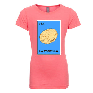 Girl's La Torteria Tortilla T-Shirt