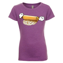 "Load image into Gallery viewer, Girl's ""El Mickey"" Basic Crew Neck T-Shirt"