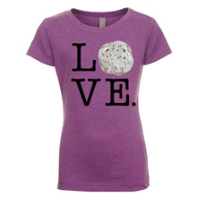 Load image into Gallery viewer, Girl's Love Tortilla T-Shirt - Black Lettering