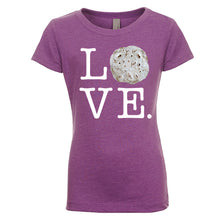 Load image into Gallery viewer, Girl's Love Tortilla T-Shirt - White Lettering