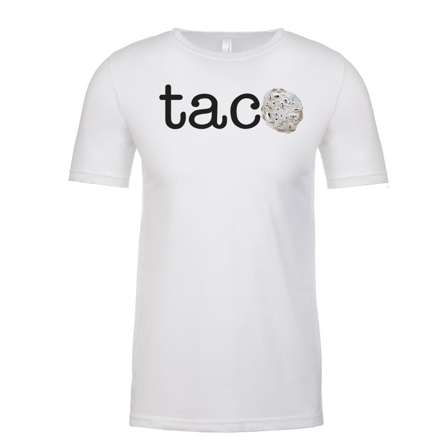 Men's TACO Black Lettering <br>Parody T-Shirt