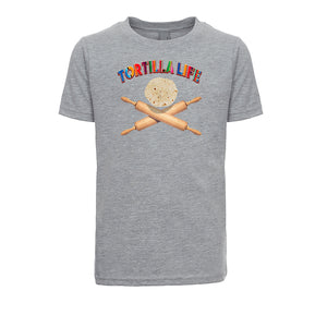 Youth/Unisex TShirt Tortilla Life -Duel Rolling Pins