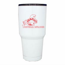Load image into Gallery viewer, Tortilla Life Solid Logo - 30 oz. White Tumblers