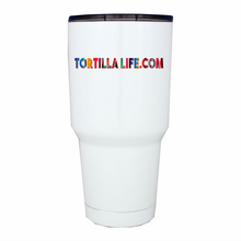 Load image into Gallery viewer, TortillaLife.com Serape Lettering Tumbler 30 oz