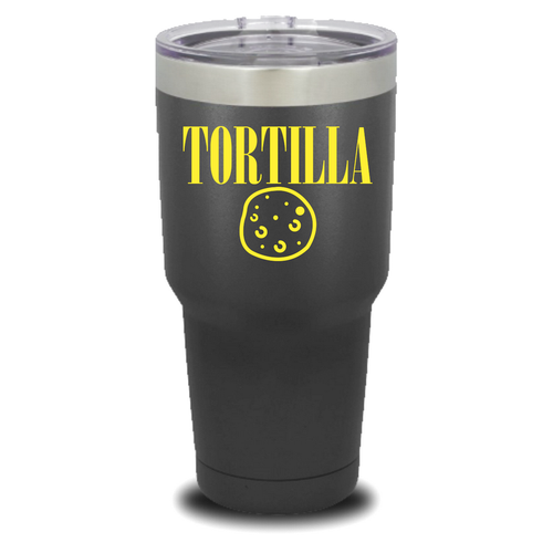 TORTILLA, yellow design - 30 oz. Tumblers