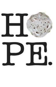Girl's HOPE Tortilla - Black Letters