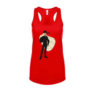 Ladies Zorro-tilla Movie Racerback Tank Top