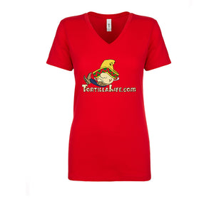 Ladies Sr. Chato Logo Basic Tee Shirt