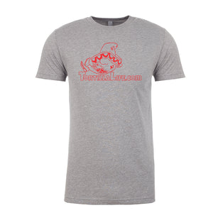 Men's Tortilla Life Logo T-Shirt - Red Logo