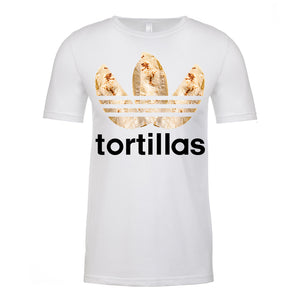 Men's Flour Sport Tortilla T-Shirt (Black Lettering)
