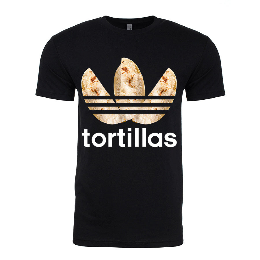 Men's Flour Sport Tortilla T-Shirt (White Lettering)