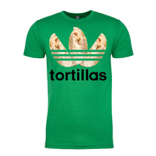 Load image into Gallery viewer, Men's Flour Sport Tortilla T-Shirt (Black Lettering)