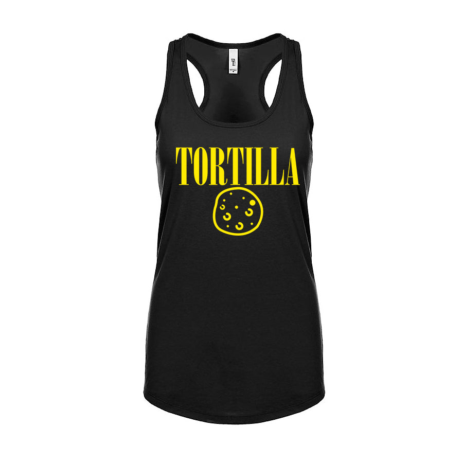 Ladies Smells Like ... Racerback Tank Top - Yellow