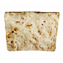 Load image into Gallery viewer, Tortilla Life Flour Tortilla Throw -Warm off the griddle