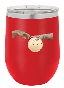 Tortilla Hands Tumblers - 12 oz. Insulated Wine Cups