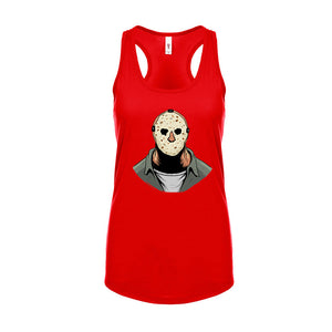 Ladies Yason Scary Movie Racerback Tank Top