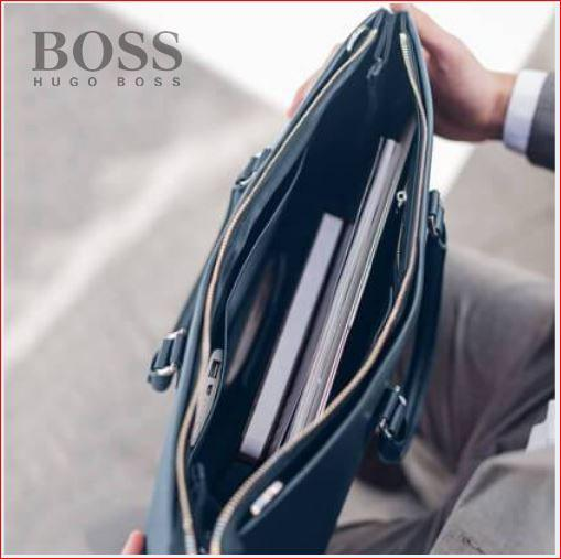 2009 Hugo Boss - NAVY LIMITLESS VOYAGE BRIEFCASE