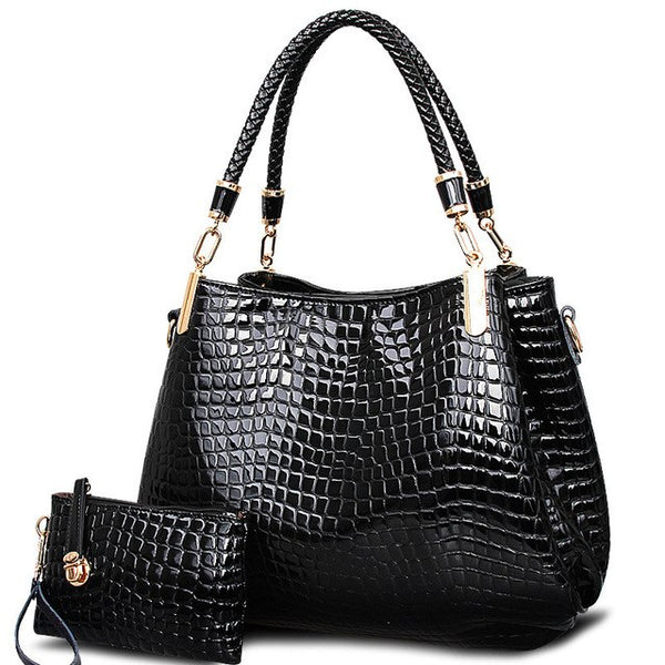 High Quality Ladies Leather Suitcase Shoulder Bag