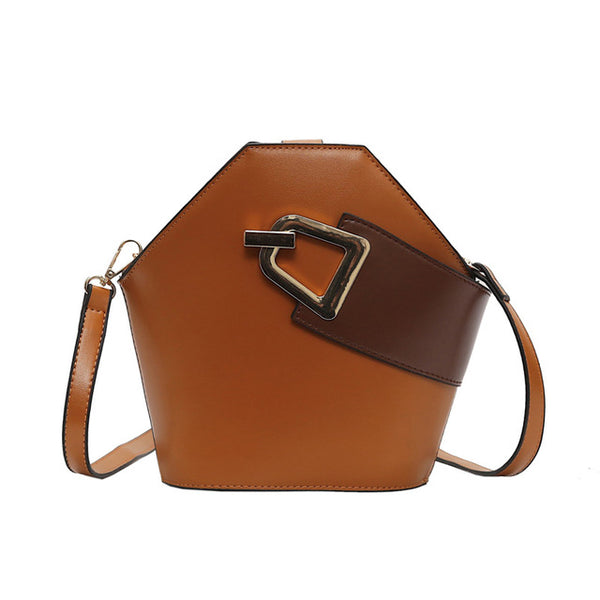 Trendy Simple Joker Single Shoulder Crossbody