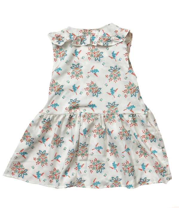 Floral Celina Girl wrap dress