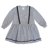 Celina Girl wrap dress- Grey