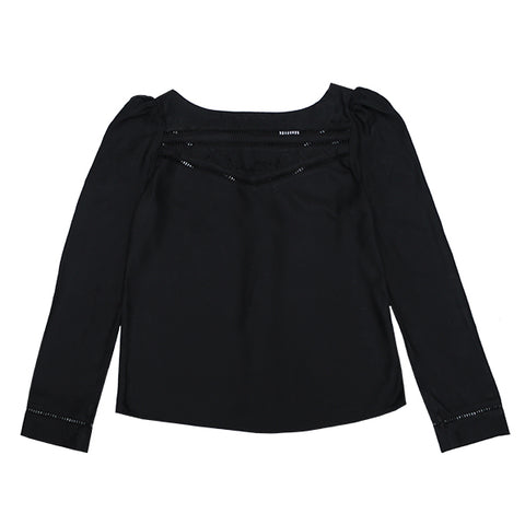 Den Blouse- Black