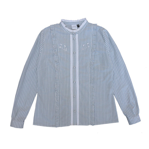 Kirsten Shirt- striped green