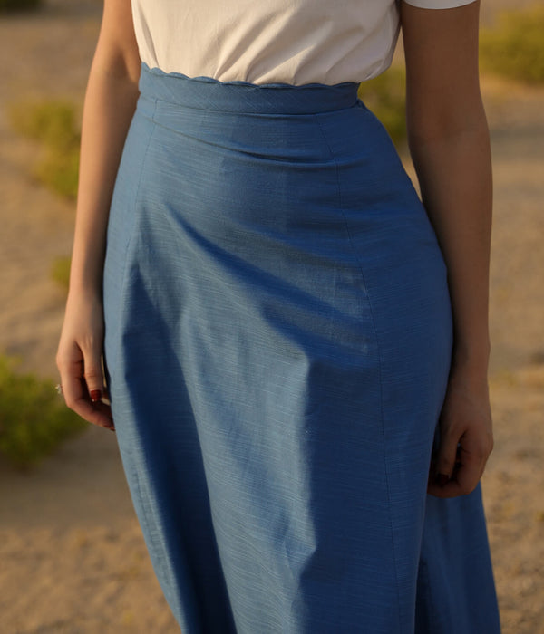 Blue Skirt Linda