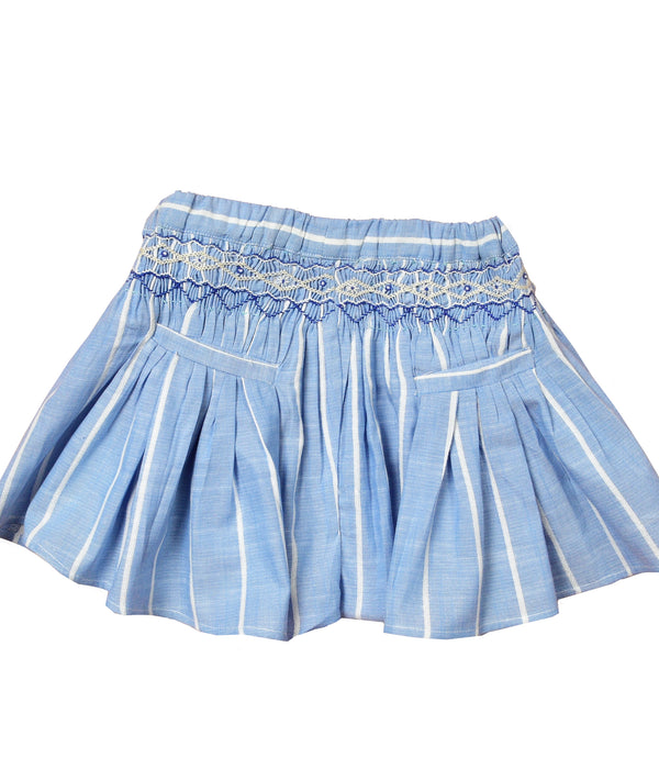 Stripped Blue Juni shorts