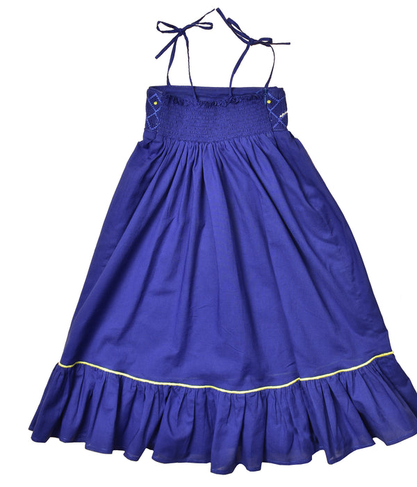 Blue Sassou dress