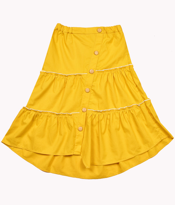 Yellow Soline Skirt