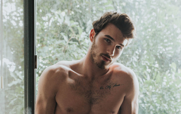 MICHAEL YERGER IS OUR DATE ON  A RAINY DAY