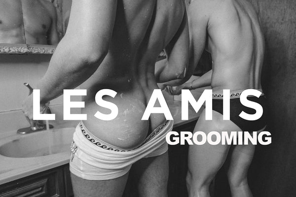 NSFW NICK AND PIERRE TAKE A SHOWER WITH LES AMIS GROOMING