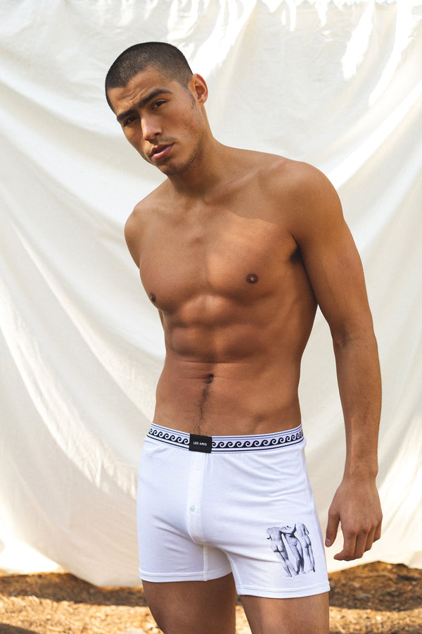 Les Amis Muse Boxer Brief White