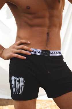 Les Amis Muse Boxer Brief Black