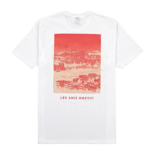 Hollywood Adonis Tee White