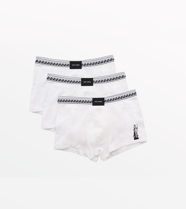 Les Amis White Neptune Trunk Multi Pack