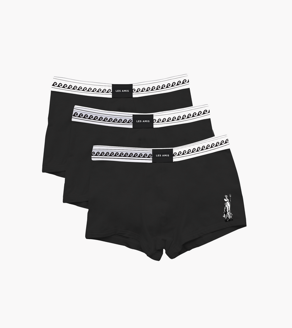 Les Amis Black Neptune Trunk Multi Pack
