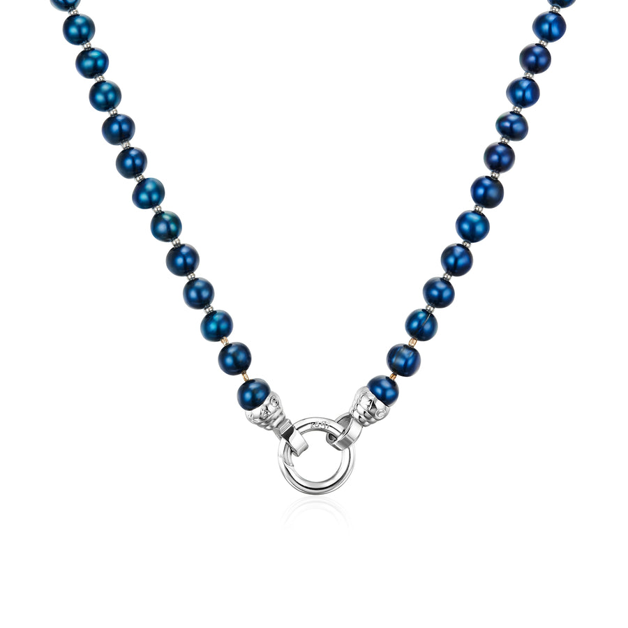 Blue Lagoon Petite Necklace 49cm (3926680567894)