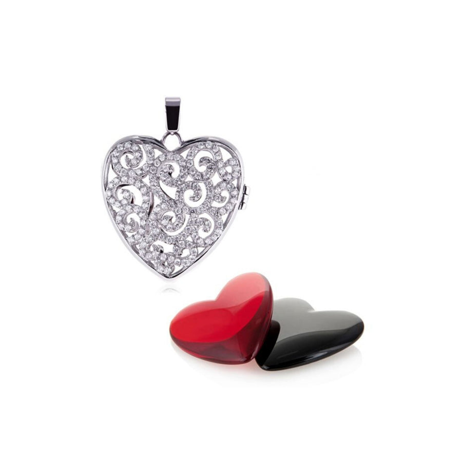 Splendor Heart Mini Locket Set
