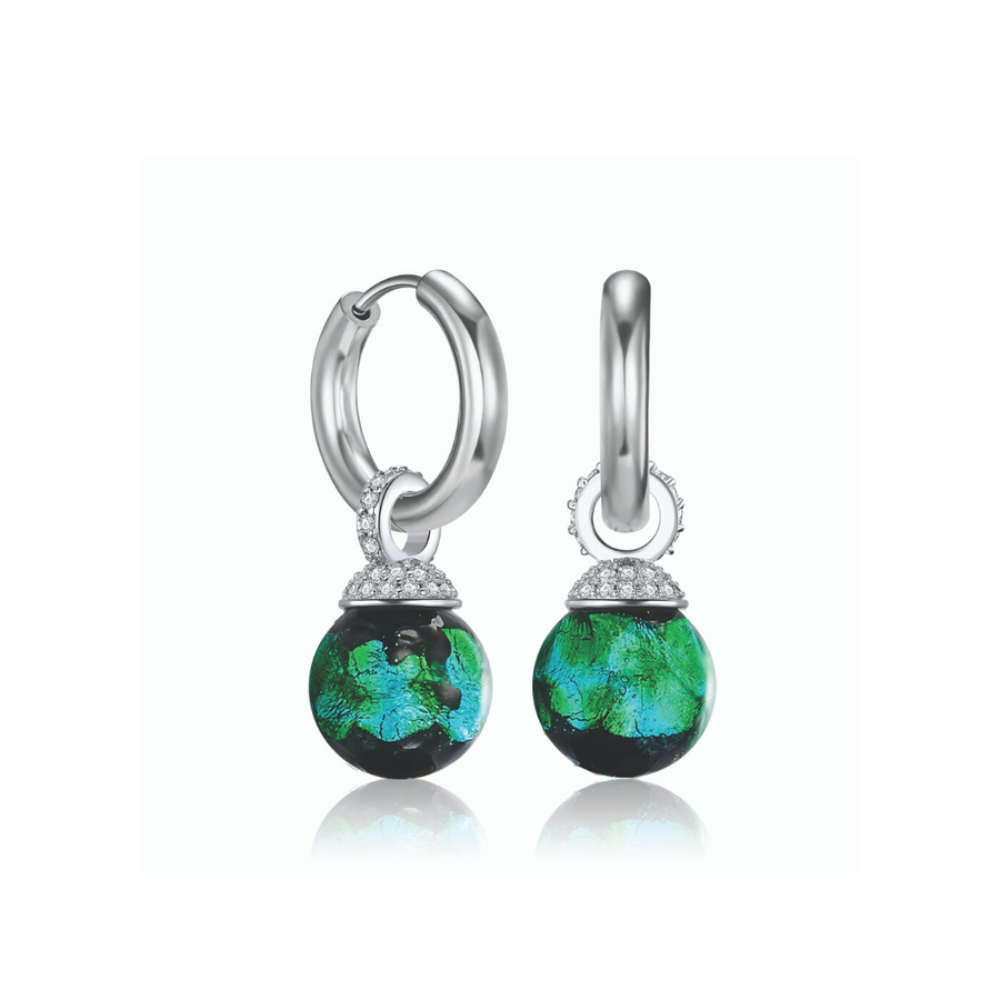 LAST 1! Kagi Emerald City Ear Charms