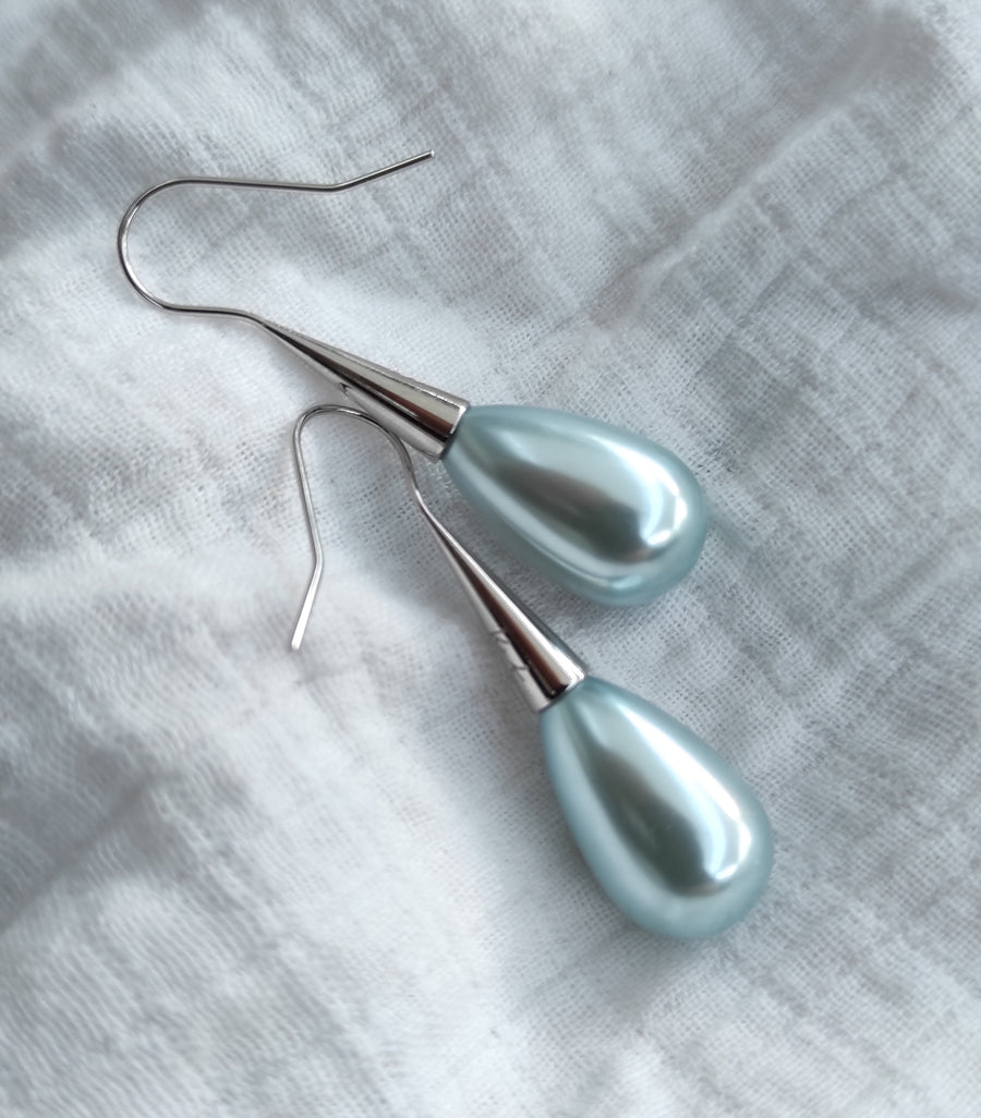 Limited Edition! Powder Blue Droplet Earrings