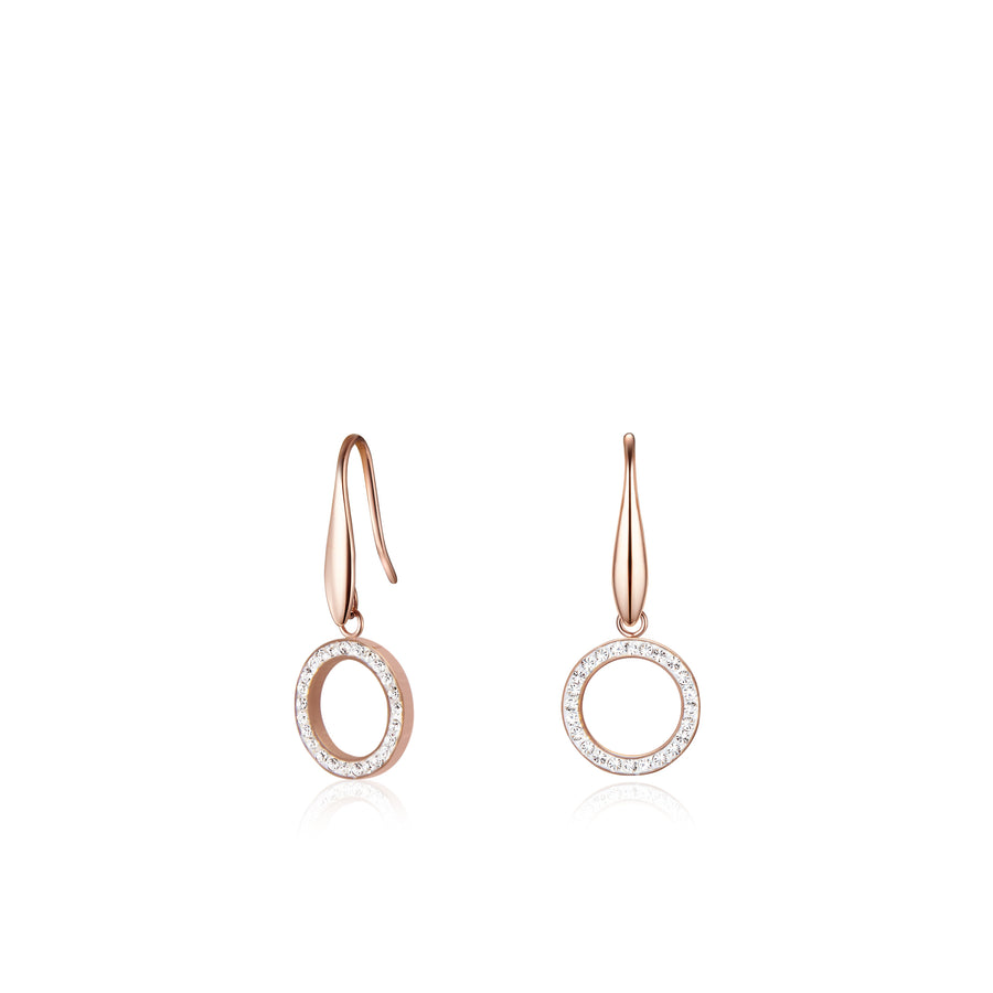 Kagi Rose Halo Earrings *Online Exclusive!*