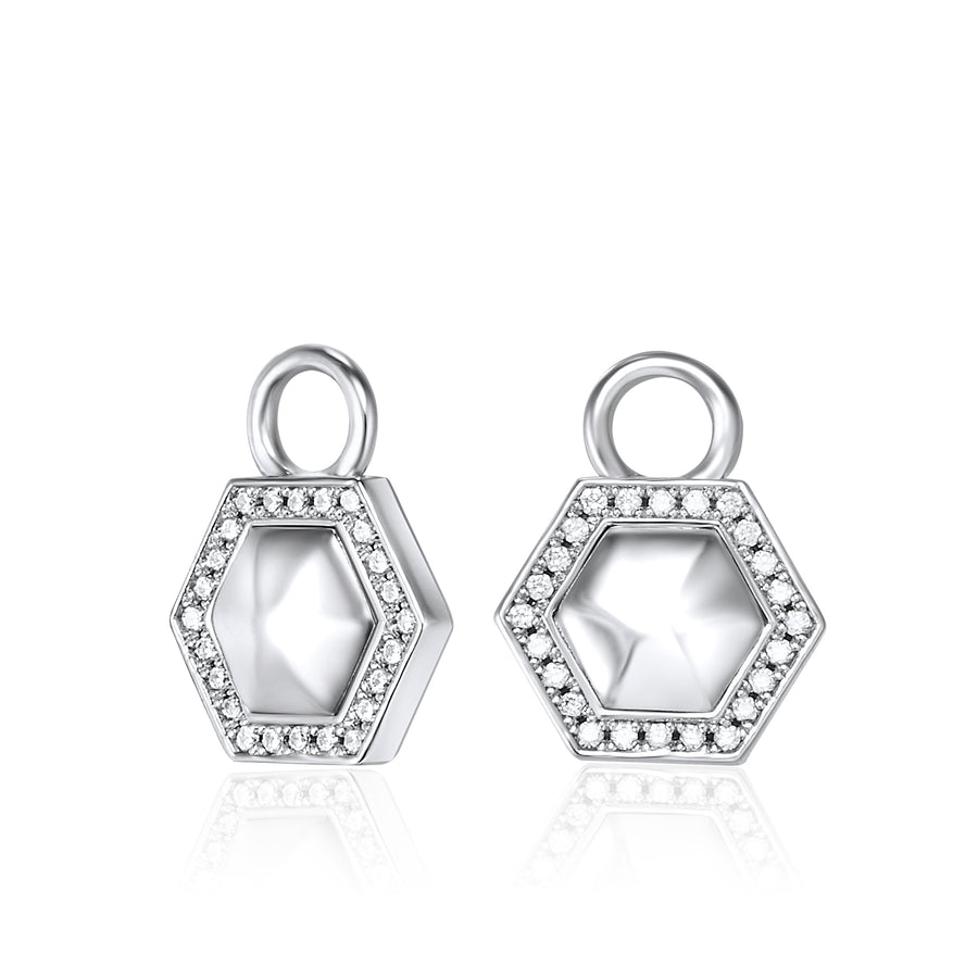 LAST 1! Sterling Silver Geometry Ear Charms
