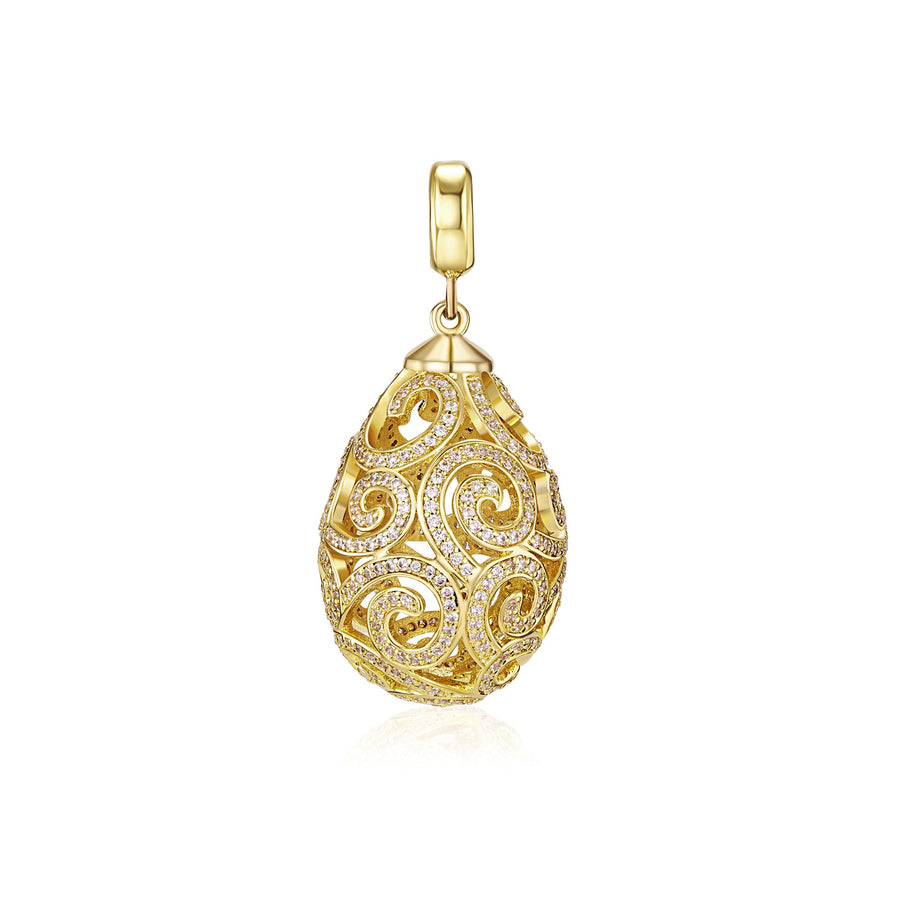 11k Gold Imperial Pendant