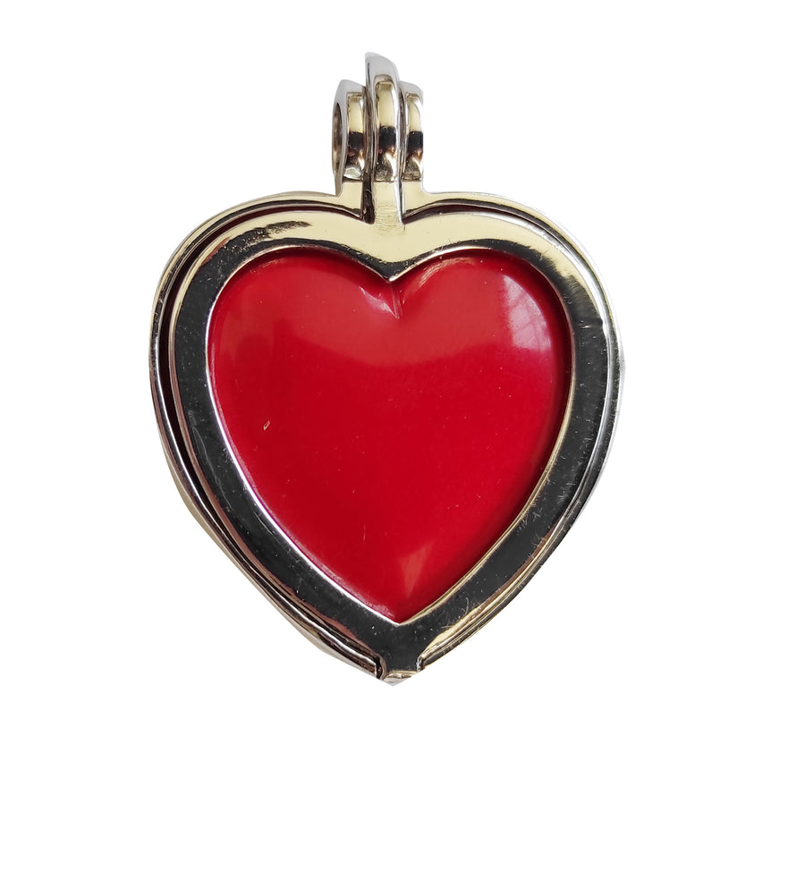 KAGI Switch-it-out Heart Locket! 5 ONLY! + bonus insert!